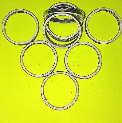 ALLOY AND FIBRE EXHAUST GASKETS SEAL HEADER GASKET RING 54mm OD, 44mm ID     A54
