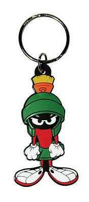 LOONEY TUNES - RUBBER KEYCHAIN / KEY RING (MARVIN THE MARTIAN)