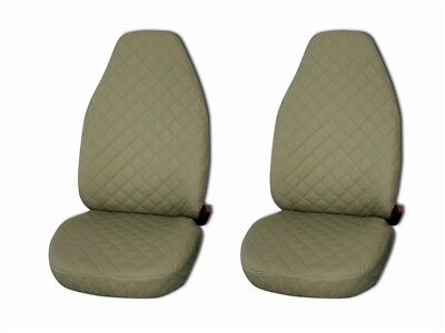 Front Seat Covers for Mercedes A , B , C , E class Vito , Viano , Sprinter BEIGE