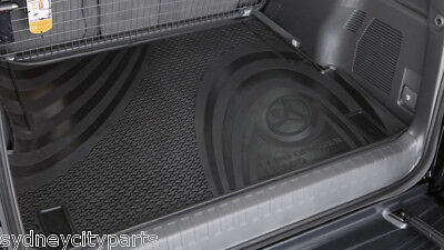 Toyota Prado 150 Series Cargo Mat Rubber 7 Seat Version From Aug 09> New Genuine