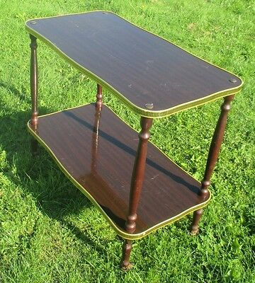 Beautiful Early French Mid Century Bar Cart Hollywood Regency Driving smoothly