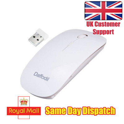 Daffodil WMS500W - Wireless Optical Mouse - With Scrollwheel and Adjustable DPI