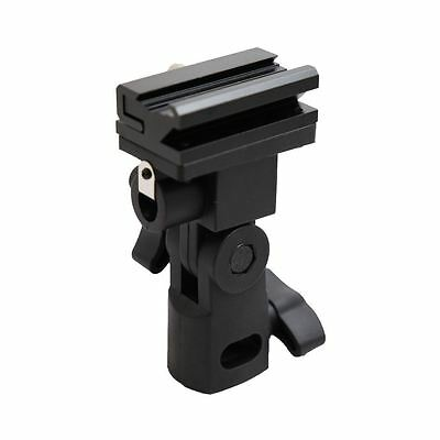 Kaavie Universal Swivel Hot Shoe Flash Holder for Light Stand with Umbrella Lock
