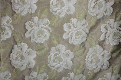 Dandini Olive Faux Silk  Prestigious Curtain//Craft Fabric