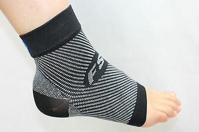 FS6 Compression Sleeve Sock-Pair 3 Colours Black Natural White NEW