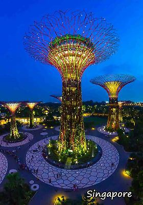 GARDENS BY THE BAY SINGAPORE FRIDGE MAGNET #fm269