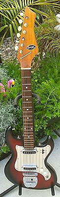 Vintage 60's Rare Swinga By Kingston/teisco Ez Project Guitar Mij