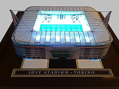 Juventus - Handmade Model With Working Floodlights