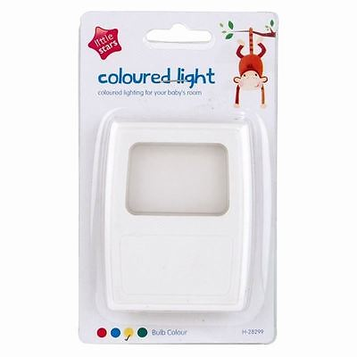 New Coloured plug In Night light Baby Safety Childrens Mains Nightlight