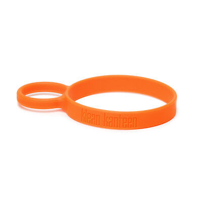 Klean Kanteen Steel Pint Cup Silicone Carrier Ring Attachment Loop Holder Orange