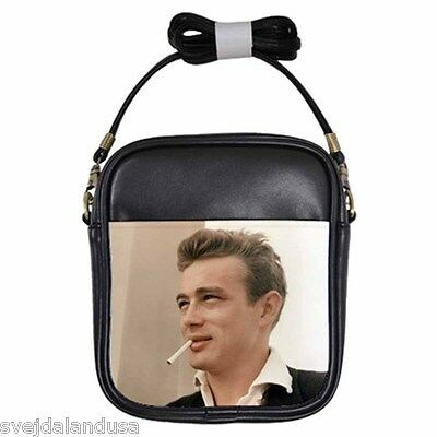 JAMES DEAN AND LOVIN' IT Leather Sling Bag Small Purse