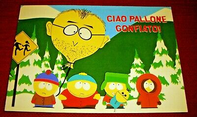 1999 - Rara Cartolina South Park Comedy Central Eric Kenny Kyle Stan Mackey Pito