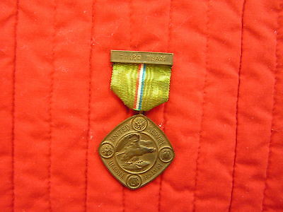 THIRD TEAM UNITED SERVICE MATCH TROPHY MEDAL 1911, NAMED.