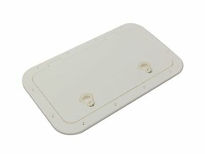 "MARINE PLASTIC 23"" x 13-¾"" ACCESS HATCH INSPECTION FOR BOAT & RV – FIVE OCEANS"