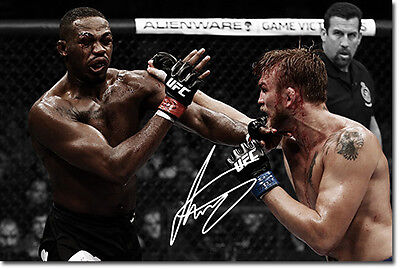 ALEXANDER GUSTAFSSON - SIGNED PHOTO PRINT POSTER - HIGHEST QUALITY PRINT