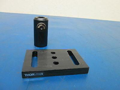 Thorlabs Lot of 2 Optical Stage Stand Mount and Bracket