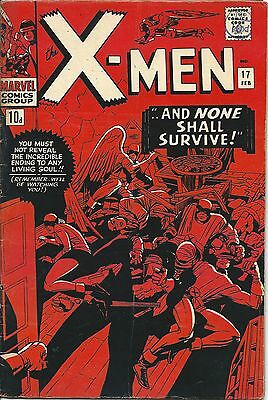 X-Men 17 Marvel Silver Age 1966