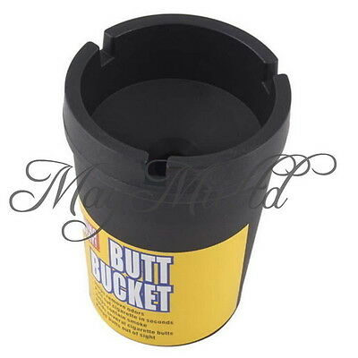 New  Auto Car Butt Bucket Self Extinguishing Cigarette Ashtray Holder H