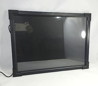 """LED Menu Board 22""""x24"""" Message Sign Display Dry Erase Neon Board One Sided"""