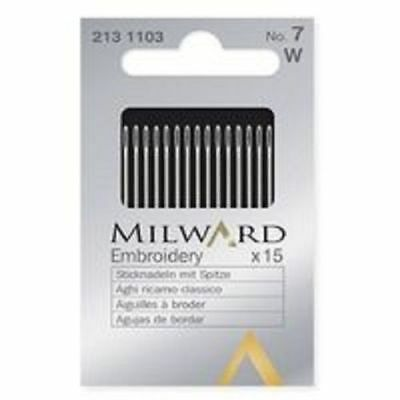 Milward Embroidery Needles - Choice of size