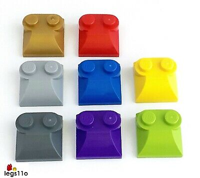 G Lego-6091-Brick 1x2x1.33 with curved top choose colour x1