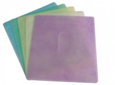 200 CD Double-sided Plastic Sleeve Assorted Color Budget