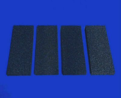4 x COMPATIBLE INTERPET PF4 CARBON FOAM REPLACEMENTS POWER FILTER FISH TANK