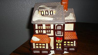 Winter House-Cookie Jar-Holiday