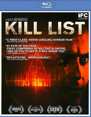 Kill List (Blu-ray Disc, 2012) JUST UNWRAPPED! LOW SHIPPING!