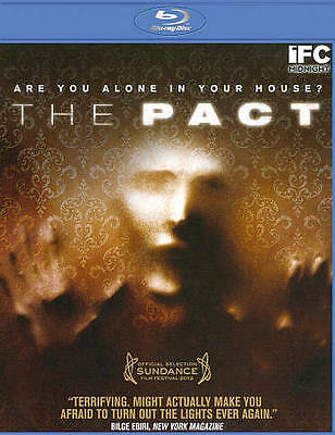 The Pact (Blu-ray Disc, 2012) JUST UNWRAPPED! LOW SHIPPING!