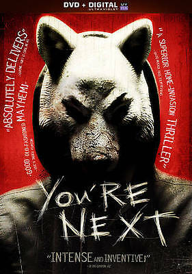 You're Next (Blu-ray Disc/DVD) JUST UNWRAPPED! LOW SHIPPING!