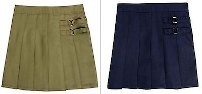 French Toast Girls Skort/Scooter Navy/Khaki School Uniform  NEW