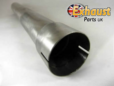 Any Size Stainless Steel Exhaust De Cat Catalytic Bypass Pipe Section Tube Clamp