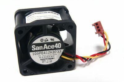 Sanyo Denki SanAce 40 109P0412K3033 12V 0.55A 40x40x28mm 3-Pin Fan 40mm Lüfter