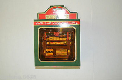 Coca Cola Town Square Collection Newsstand Christmas Decorative Collector