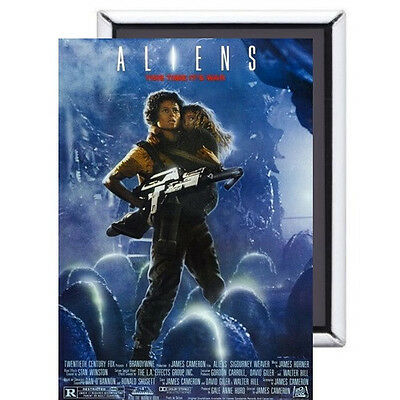Aliens FRIDGE MAGNET movie poster