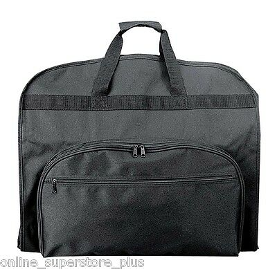 """39"""" Business Garment Bag Cover for Suits and Dresses Clothing Foldable w Pockets"""