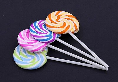 4pcs Simulation Lollipop Eraser A Group of Four Free Shipping