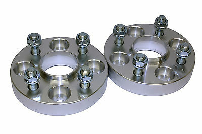 25mm 4x108 63.4CB Hubcentric Wheel Spacer Kit Ford Escort MK1 MK2 MK3 1981-1990