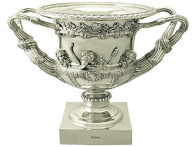 Sterling Silver Warwick Vase by Walker & Hall - Antique Edwardian
