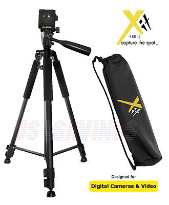 """TRIPOD 60"""" PROFESSIONAL Xit STYLE FOR CAMERAS and CAMCORDERS"""