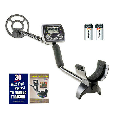"Whites Coinmaster Metal Detector with Waterproof 9"" Spider Search Coil"
