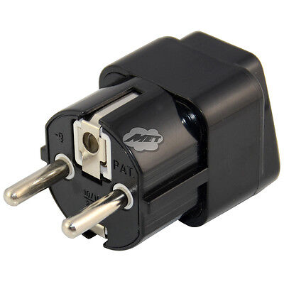 AU US UK to EU Euro GER Plug AC Power Travel Home Charger Adapter Converter