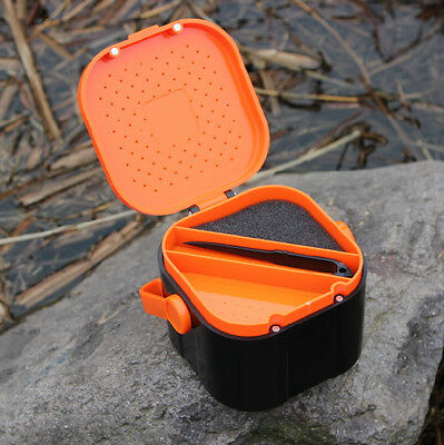 Orange Color Fishing Tackle Fish Lures Box Fishing Accessories Boxes