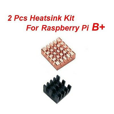 Brand New 2pcs Heatsink Kit for Raspberry Pi 3 / Pi 2 / Pi 1 B+