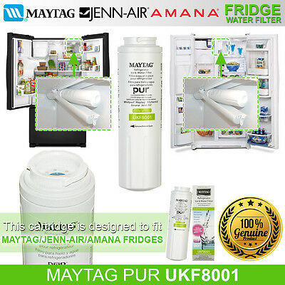 Genuine Amana Jenn-Air Maytag Ukf8001 Water Filter (Ukf8001Axx)