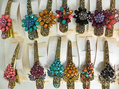 US Seller-lot of 12 wholesale hairclips hair alligator clip