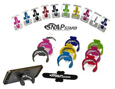 Universal Silicone Mobile Phone Snap Stand Desk Car Plane  Mount Holder Iphone