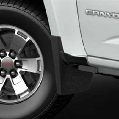 22958431 2015 Chevrolet Colorado / GMC Canyon Black Front Molded Splash Guards