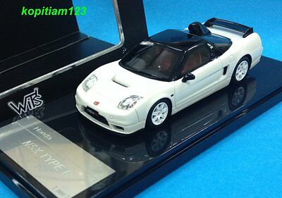 1:43 WIT'S W66 HONDA NSX TYPE-R FACELIFT WHITE GT ROOF AIR INTAKE model car